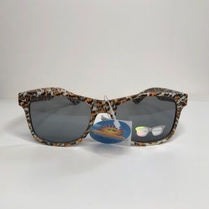 Yellow Leopard Sunglasses